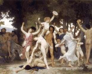 The Youth of Bacchus — Вильям Адольф Бугро