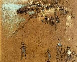 The Zattere; Harmony in Blue and Brown — Джеймс Эббот Макнил Уистлер