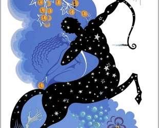 The Zodiac, Sagittarius — Эрте