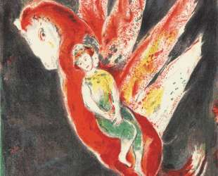 Then the old woman mounted on the Ifrit's back… — Марк Шагал