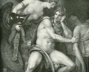 Thetis Bringing the Armor to Achilles — Бенджамин Уэст