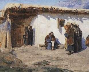 Привели детей — Василий Поленов