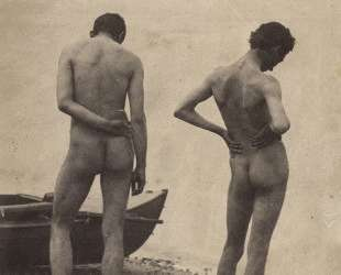 Thomas Eakins and John Laurie Wallace on a Beach — Томас Икинс