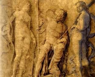Three deities — Андреа Мантенья