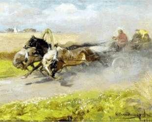Three horses — Иван Владимиров