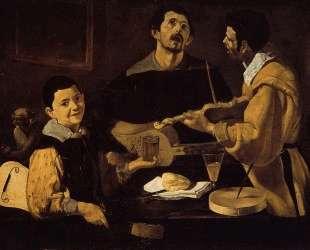 Three Musicians — Диего Веласкес