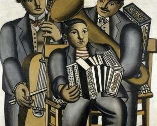 Three musicians — Фернан Леже