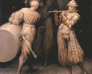 Три солдата — Питер Брейгель Старший