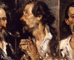 Three studies of head — Хоакин Соролья