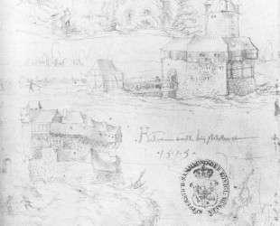 Три швабских замка — Ханс Бальдунг