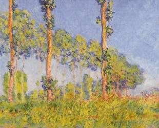 Три дерева осенью — Клод Моне