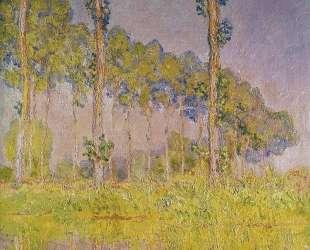 Три дерева весной — Клод Моне