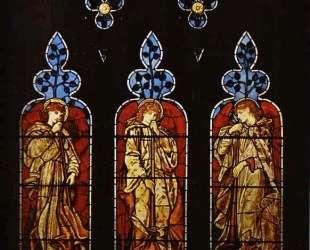 Тритрубящих ангела — Эдвард Бёрн-Джонс