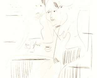 Three Women in a Cafe — Эрнст Людвиг Кирхнер