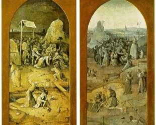 Триптих Искушение Св. Антония — Иероним Босх