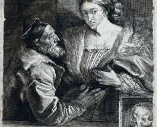 Тициан с любовницей — Антонис ван Дейк
