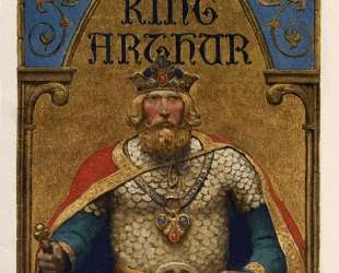 Title page of The Boy's King Arthur — Ньюэлл Конверс Уайет