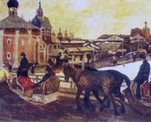 To Troyitsa — Константин Юон