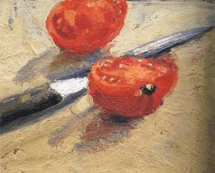 Tomato and Knife — Ричард Дибенкорн
