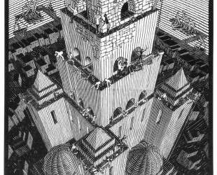 Tower of Babel — Мауриц Корнелис Эшер