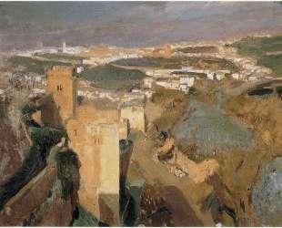 Tower of Seven, pont Alhambra, Granada — Хоакин Соролья