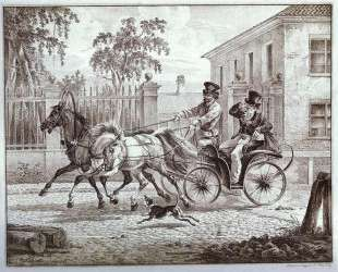 Town Carriage (Droshky) — Александр Орловский