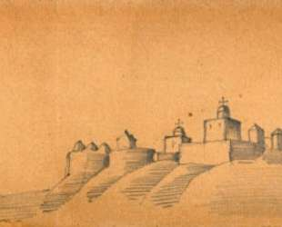 Городок (Монастырь на холмах) — Николай Рерих