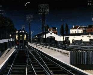 Вечерний поезд — Поль Дельво