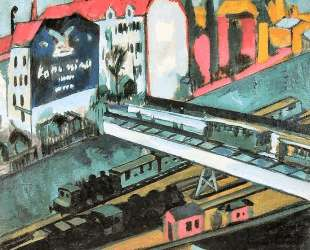 Tram and Rail — Эрнст Людвиг Кирхнер