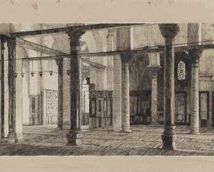 Transept of the Mosque of El Aksa — Джеймс Тиссо