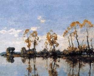 Trees At The Waal — Корнелис Вреденбург
