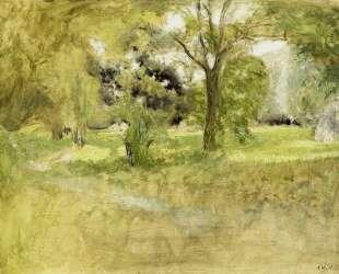Trees in a Field — Эдуар Вюйар