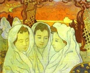 Triple Portrait of Marthe — Морис Дени