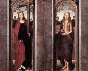 Триптих Адриана Рейнса (с закрытыми створками) — Ганс Мемлинг