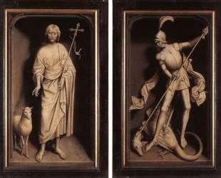 Триптих семьи Морель (с закрытыми створками) — Ганс Мемлинг