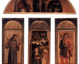 Триптих Рождества Христового — Якопо Беллини