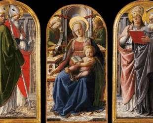 Triptych — Филиппо Липпи
