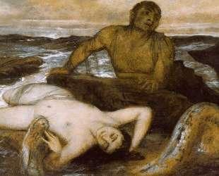 Triton and Nereid — Арнольд Бёклин