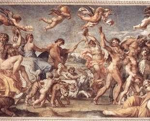 Triumph of Bacchus and Ariadne — Аннибале Карраччи