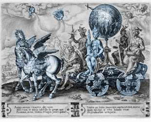 Triumph of the World — Мартен ван Хемскерк
