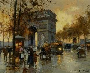 Triumphal Arch View — Эдуард Кортес