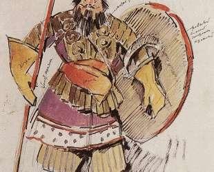Царь Дадон-военный — Константин Коровин