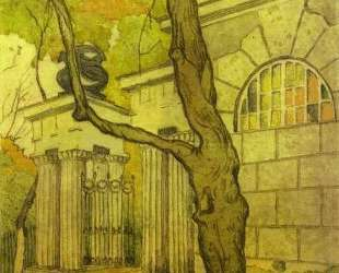 Tsarskoye Selo. Kameronov Gallery. — Мстислав Добужинский