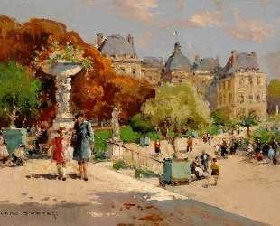 Tuileries Garden — Эдуард Кортес