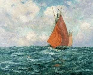 Tuna Boat at Sea — Максим Мофра