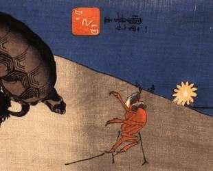 Turtle and crab — Утагава Куниёси