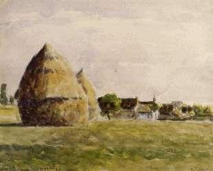 Twilight, Eragny — Камиль Писсарро