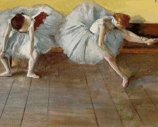 Две балерины — Эдгар Дега