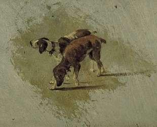 Two dogs — Тео ван Дусбург