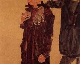 Two Guttersnipes — Эгон Шиле